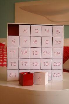 Calendario adviento (Inspiración)
