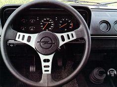 Opel Manta interior