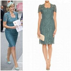 Queen Maxima in Dolce and Gabbana - Favorite Royals and Beautiful Quotes