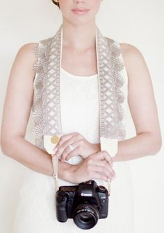 Washed Ashore Camera Strap By Bloom Theory. want!!