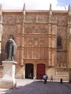 Spain. Salamanca University, founded in XIII century, one of the four oldest still in  activity, in Europe (Bologna, Oxford and La Sorbonne in Paris)