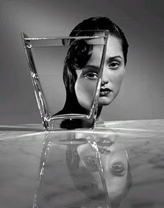 """""""We See The World Through A Broken Mirror But We Miss What We See In The Reflection""""-Luciano Santini"""