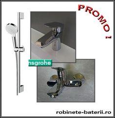 Baterii baie Hansgrohe Logis - pachet promo cu baterie cada   Hair Dryer, Personal Care, Personal Hygiene, Hair Diffuser, Dryer