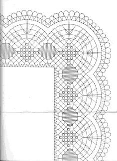 Archivo de álbumes Crochet Lace Edging, Knit Crochet, Bobbin Lace Patterns, Crochet Patterns, Needle Lace, Lace Making, Tatting, Pattern Design, How To Make