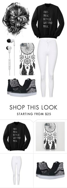 """Leave Me Alone"" by marissag261 on Polyvore featuring Topshop, Vans and Skullcandy"