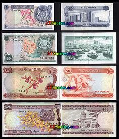 Singapore banknotes - Singapore paper money catalog and Singaporean currency history History Of Singapore, Singapore Photos, National Design Centre, Money Notes, Coins Worth Money, Vintage Props, Coin Worth, World Coins, Old Photos
