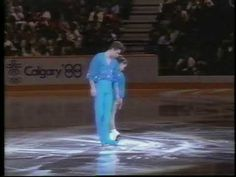 Calgary, Alberta, CANADA - 1988 Winter Games, Figure Skating, Exhibitions - Ekaterina Gordeeva and Sergei Grinkov of the Soviet Union