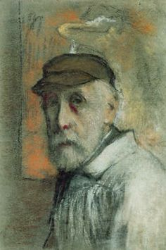 Edgar Degas   Autoritratto