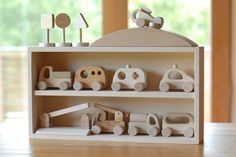 Wooden toys manufacture direct sales | Nakayoshi library