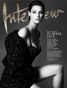 My favorite cover of Interview magazine's September issue.