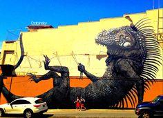 """January 25, 2013 ·  Graffitti Pda 21 b *Uno de mis favoritos. Nota: Las series: Pda21 1c, Pda21 d y Pda21 b, son las tres series en una misma pared, en diferentes tiempos. — at Ave. Juan Ponce de León, Pda. 21, San Juan, Puerto Rico. Serie: """"Los Muros Hablan"""" Autor: País Origen: Año: 2012"""