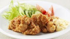 """""""Chikin namban"""" (pollo frito agridulce)"""