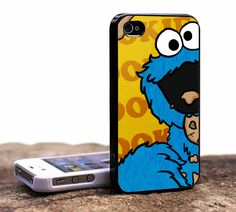 Cookie Monster - iPhone 4 Case, iPhone 4s