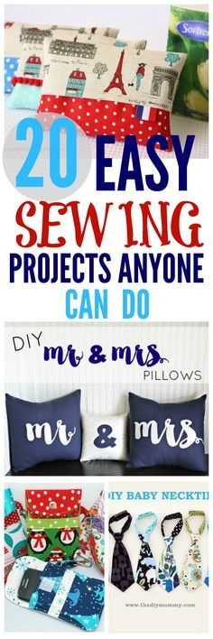 Sewing Projects for begginers. #sewing #sewingproject #diysewing #sewingforbeginners