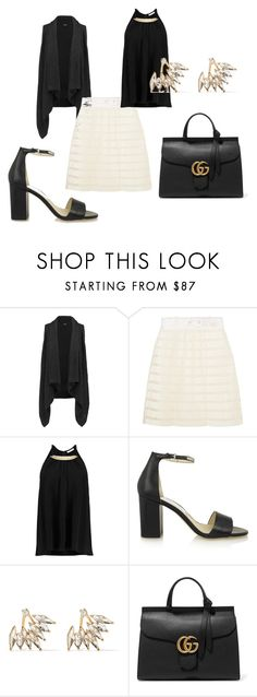 """Untitled #4993"" by noemydifiore ❤ liked on Polyvore featuring Splendid, 3.1 Phillip Lim, MICHAEL Michael Kors, Kenneth Jay Lane, Gucci, women's clothing, women, female, woman and misses"