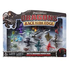DreamWorks Dragons: Race To The Edge, Battle Dragons Power Pack >>> Find out more about the great product at the image link. Lego Dragon, Dragon Eye, Dragon Birthday, Dragon Party, Dreamworks Dragons, Httyd, Toothless Toy, Dragon Sketch, Kid Experiments