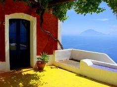 Island of Alicudi, Messina, Sicily