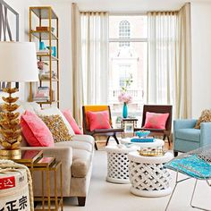 Lively living-room space!