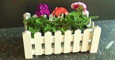 Un bonito macetero para tus plantas