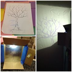 How To Project An Image On The Wall Without A Projector Diy