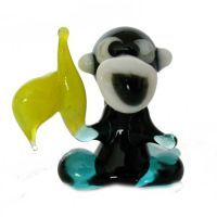murano glass monkey
