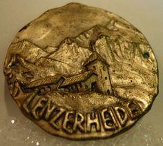 Lenzerheide Used Badge Mount stocknagel Hiking Medallion G5733   eBay