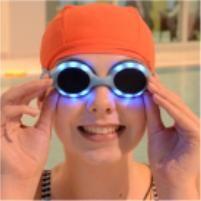 4e185174cb02 Swimming Goggles that light up and flash sooooo cool