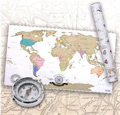 ✔ Besuchte Länder können auf der Weltkarte zum Rubbeln einfach freigerubbelt werden. So wird die Karte komplett individualisiert. ✔ XXL Abmessungen der Wanddeko World Map mit 80 x 45 cm in schickem Silber-Metallic Glanz. Perfekt als Wand-Dekoration oder Wandbild in jedem Zimmer. ✔ inkl. eleganter und dekorativer Geschenkverpackung als kreatives Geschenk. Perfekt für Weltreisende, Globetrotter & Weltenbummler. Detailreichtum & Gestaltung der Original Scrape off World Map sind einzigartig! Presents For Friends, Scratch Off, Vintage World Maps, Outdoor Blanket, Kids Rugs, France, Make It Yourself, Amazon Fr, Wanderlust