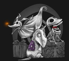 the Nightmare Before Christmas - Pets
