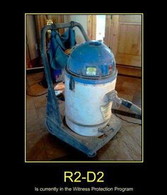Look Familiar? And old vacuum cleaner from the former Soviet Union. The 1975, Minion, Geeks, Ronald Mcdonald, Very Demotivational, Star Wars Jokes, Geek Out, Vacuums, Best Funny Pictures