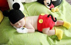 Awww! Baby mickey!!
