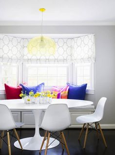 Design Chic - this is also one of my go to dining tables, love it and especially with this chair