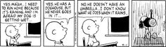 April 01, 1992 - he doesn't have an umbrella...