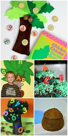30+ hands on activities inspired by Chicka Chicka Boom Boom