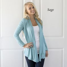 Our Autumn Open Cardigans are fabulous and perfect for the upcoming cool Fall/Winter days.