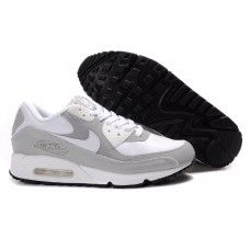 free shipping 984af ce577 Femme Nike Air Max 90 Blanc Gris