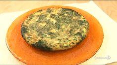 frittata con spinaci e salsiccia e brie