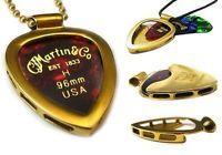 Pickbay in Gold IPG with Martin guitar pick set. Classic! www.pickbay.com #martinguitargift #pickbay #pickbay.com #weddingpartygift #musiciangift