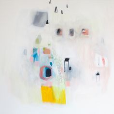 """new work by lola donoghue (36""""x36"""")"""
