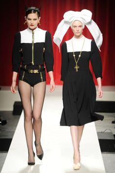 Milan Fashion Week Spring 2014: The Looks We Love  - Moschino Spring 2014