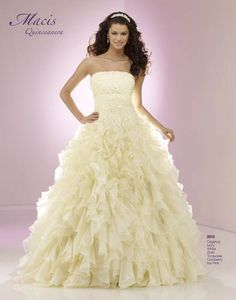 Welcome to Macis Design! Bridal Gowns, Wedding Gowns, Girls Dresses, Flower Girl Dresses, Fairytale Dress, Strapless Dress Formal, Formal Dresses, Fantasy Dress, Quinceanera Dresses
