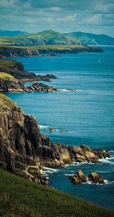 Seascape in Dingle, Ireland • photo: Peter Dybowski on TrekEarth