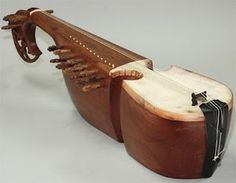 Rabab tradtional music instrument of frontier Pakistan