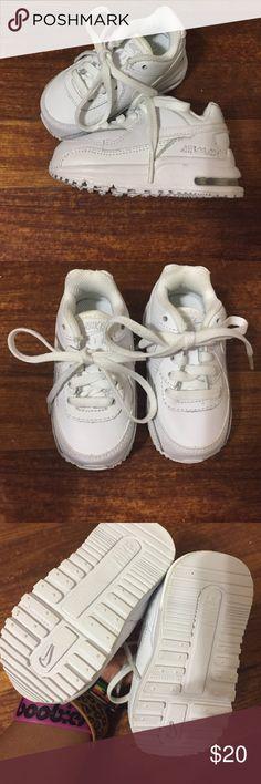 White Nike Air Max (Infant/toddler) White Nike Air Max (Infant/toddler) Nike Shoes Sneakers