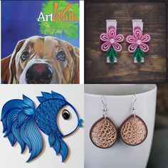 Come see my work tomorrow from 11 am to 5pm at Livermore Art Walk 2018. I will be at Bankhead Plaza.  #artshows #artwalk #livermore #bayarea #thingstodo #artlovers #originalart #meetmakers #paperart #papersweetly #loveforart Work Tomorrow, Quilling Earrings, Art Walk, Come And See, Paper Art, Things To Do, Crochet Earrings, Original Art, Things To Make