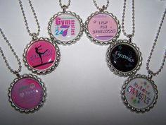 gymnast necklaces