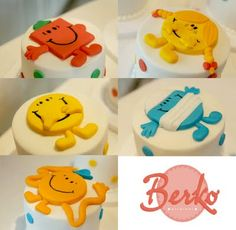 Mr Men & Little Miss cakes - For all your cake decorating supplies, please visit http://www.craftcompany.co.uk/