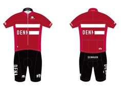Denmark's 2016 Rio Olympics cycling kit. The best design of all the countries I…