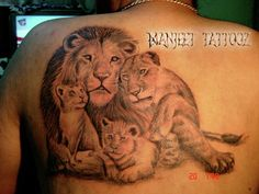 tattoo designs for lion and lioness - Google Search