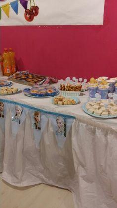 Frozen Birthday Party Bouffet